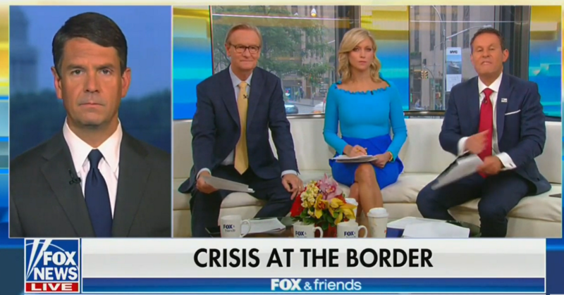 'Fox & Friends': Immigrants Are Mocking The Border Wall By Walking Around It