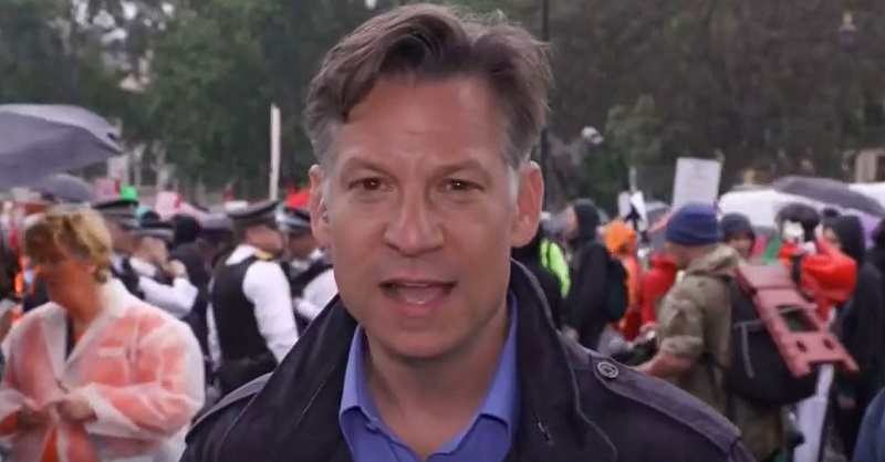 NBC's Richard Engel Says 'Delusional' for Trump to Claim Thousands Cheering Him in Britain
