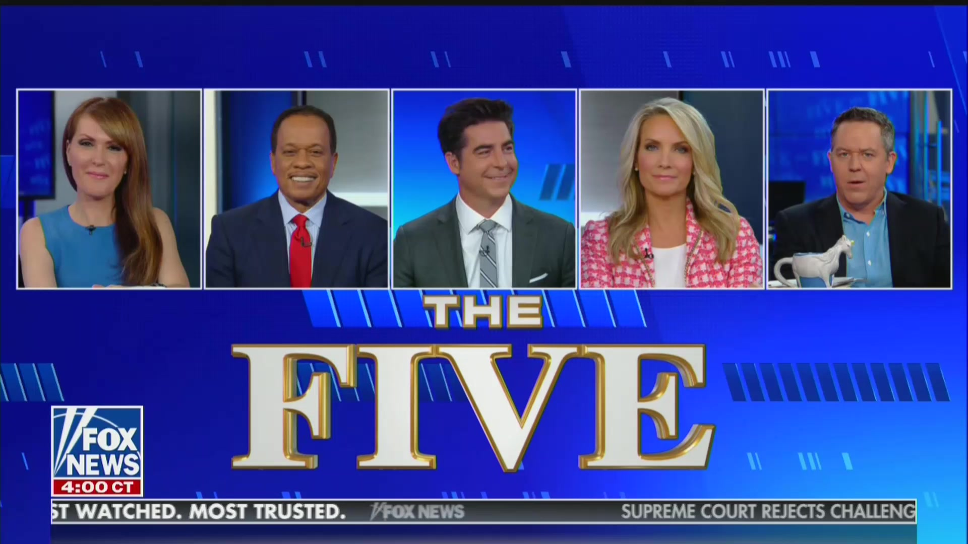 'The Five' Defeats Maddow in Total Viewers on Monday, Fox Beats CNN and MSNBC Combined in Primetime