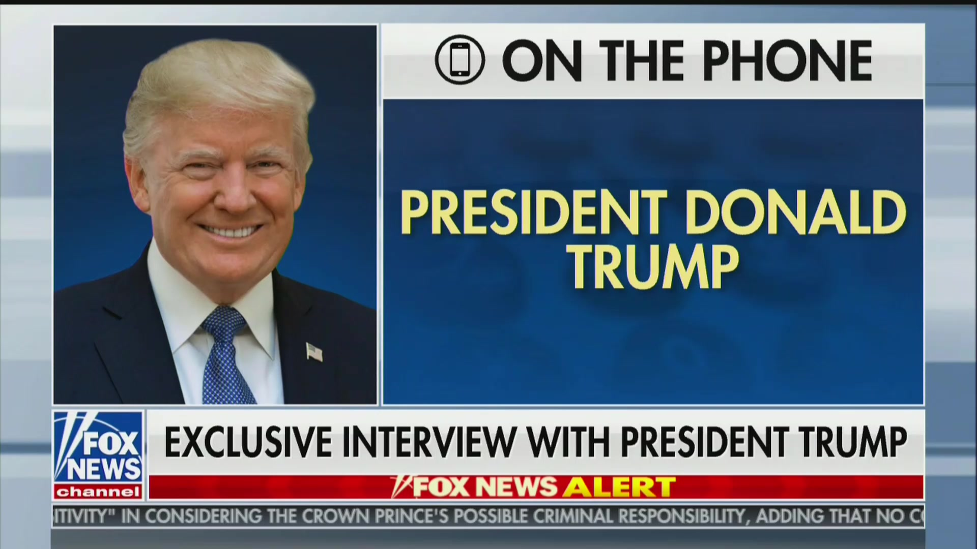 Trump Tells Hannity He's 'Not Really' a Patriot: You Just Want 'Great Ratings'