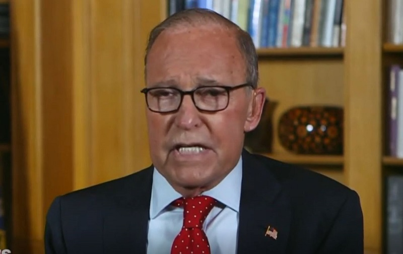Chris Wallace Challenges Larry Kudlow: 'Let Me Interrupt Your Campaign Speech'