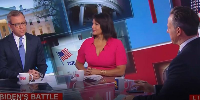 Jake Tapper Laughs at Biden's False Claim He Marched for Civil Rights: 'That Is Really, Really Weird'