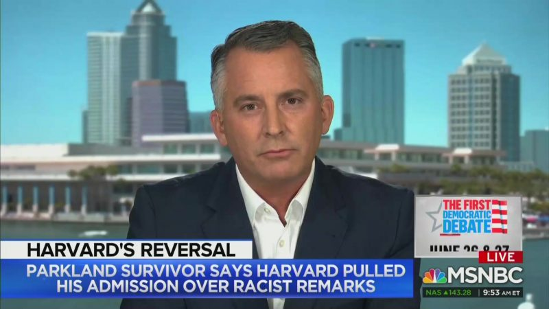 Ex-GOP Rep: I 'See a Shooter' When I Look at Kyle Kashuv's Past Racist Posts