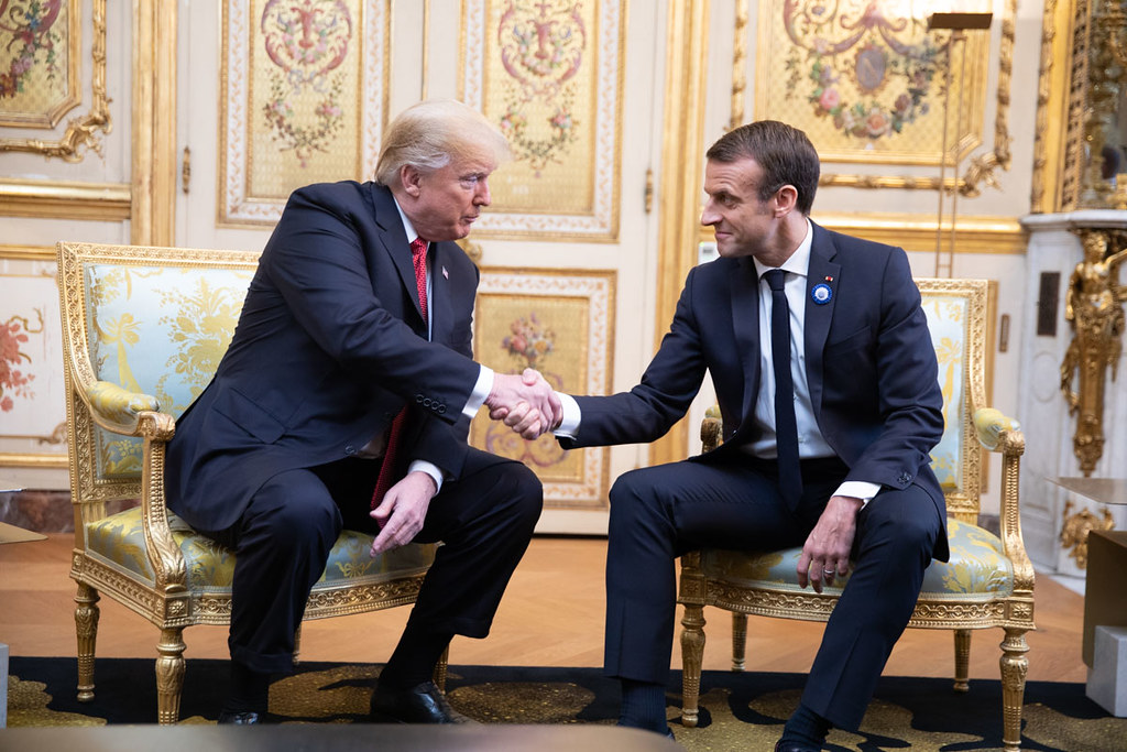 'Friendship Tree' Planted By Trump And French President May Be Dead
