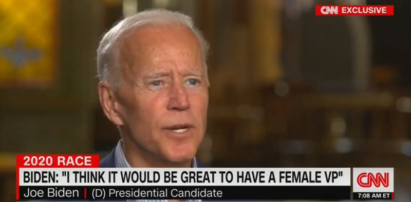Biden Won't Commit To Female Running Mate, Says President And Veep Must Be 'Simpatico'