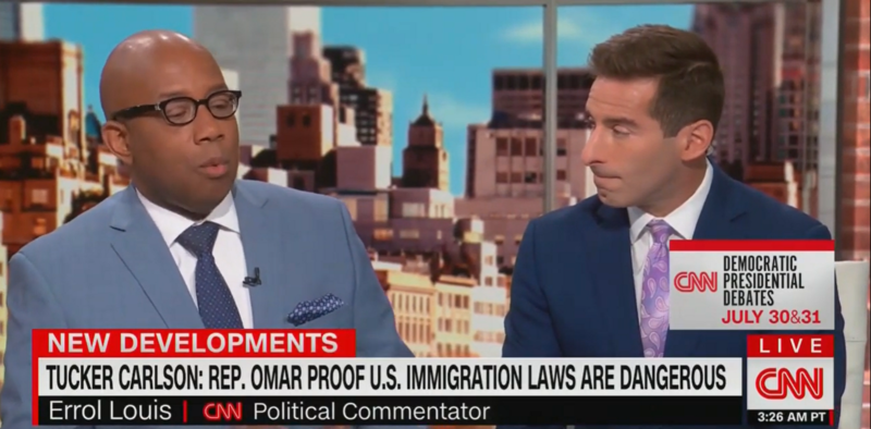 CNN Panel Calls Out Tucker Carlson's 'Racist Garbage' Following Omar Comments