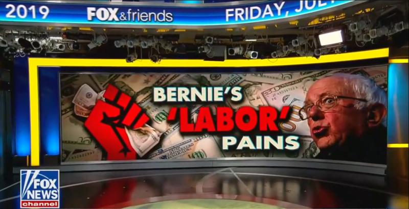 'Fox & Friends' Make A Pregnancy Joke To Mock Bernie Sanders And Minimum Wage