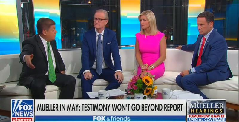 Fox's Brian Kilmeade: Ask Mueller If Putin Was 'Desperately Scrambling' To Contact Trump