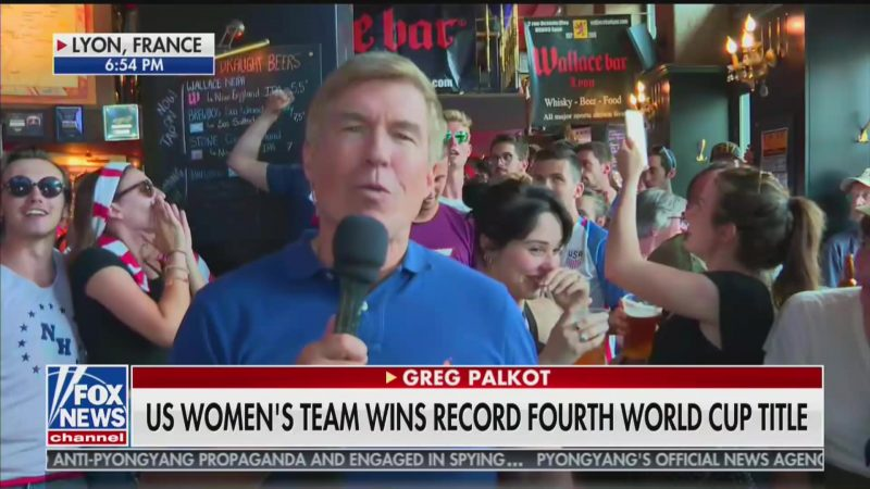 WATCH: World Cup Fans Chant 'F*ck Trump' During Live Fox News Report