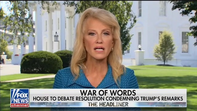 Kellyanne Conway: The Squad Is the 'Dark Underbelly' of America, Pal 'Around With Terrorists'