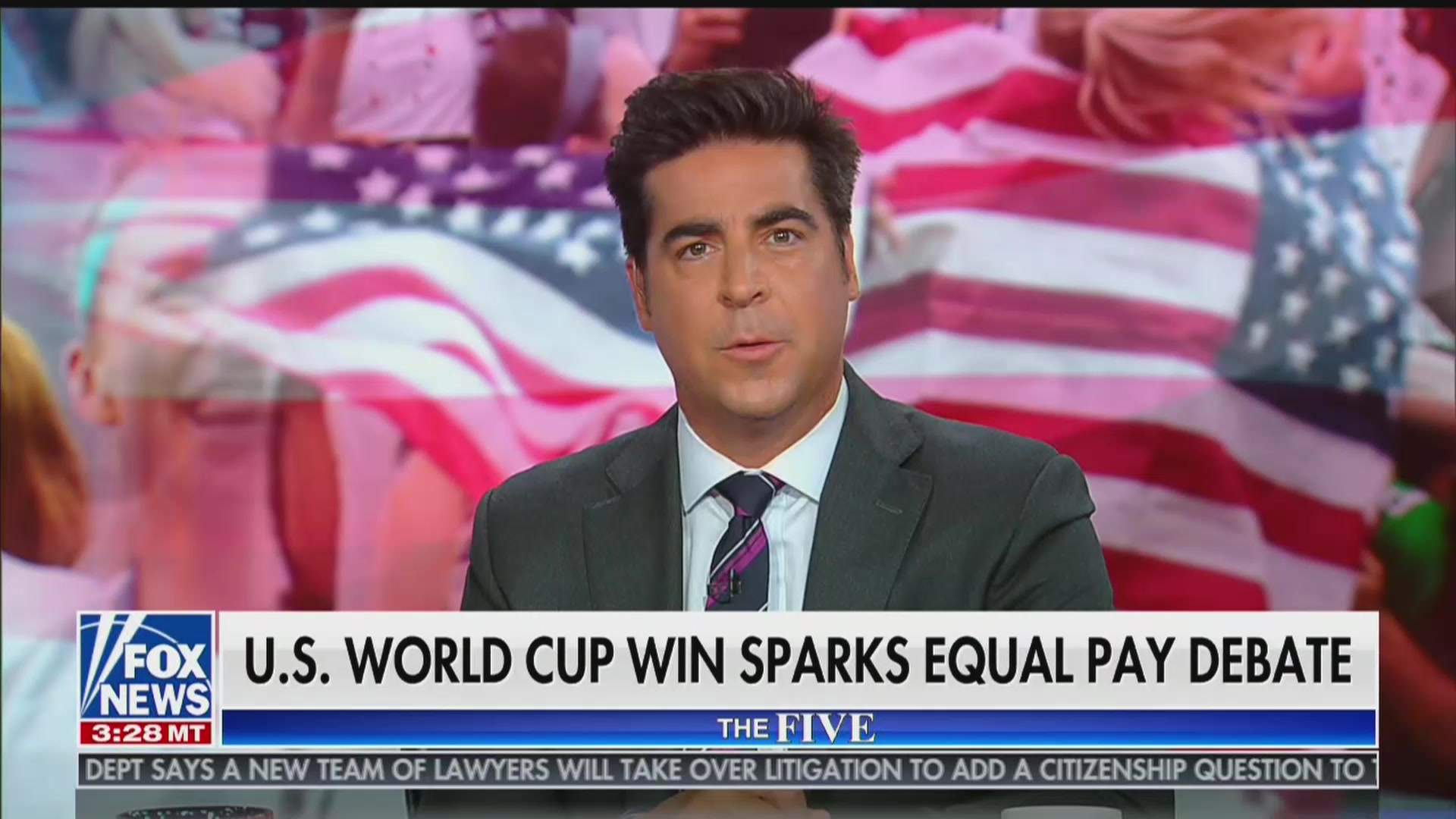 Fox News' Jesse Watters: USWNT Hurting Equal-Pay Case With 'Their Behavior'