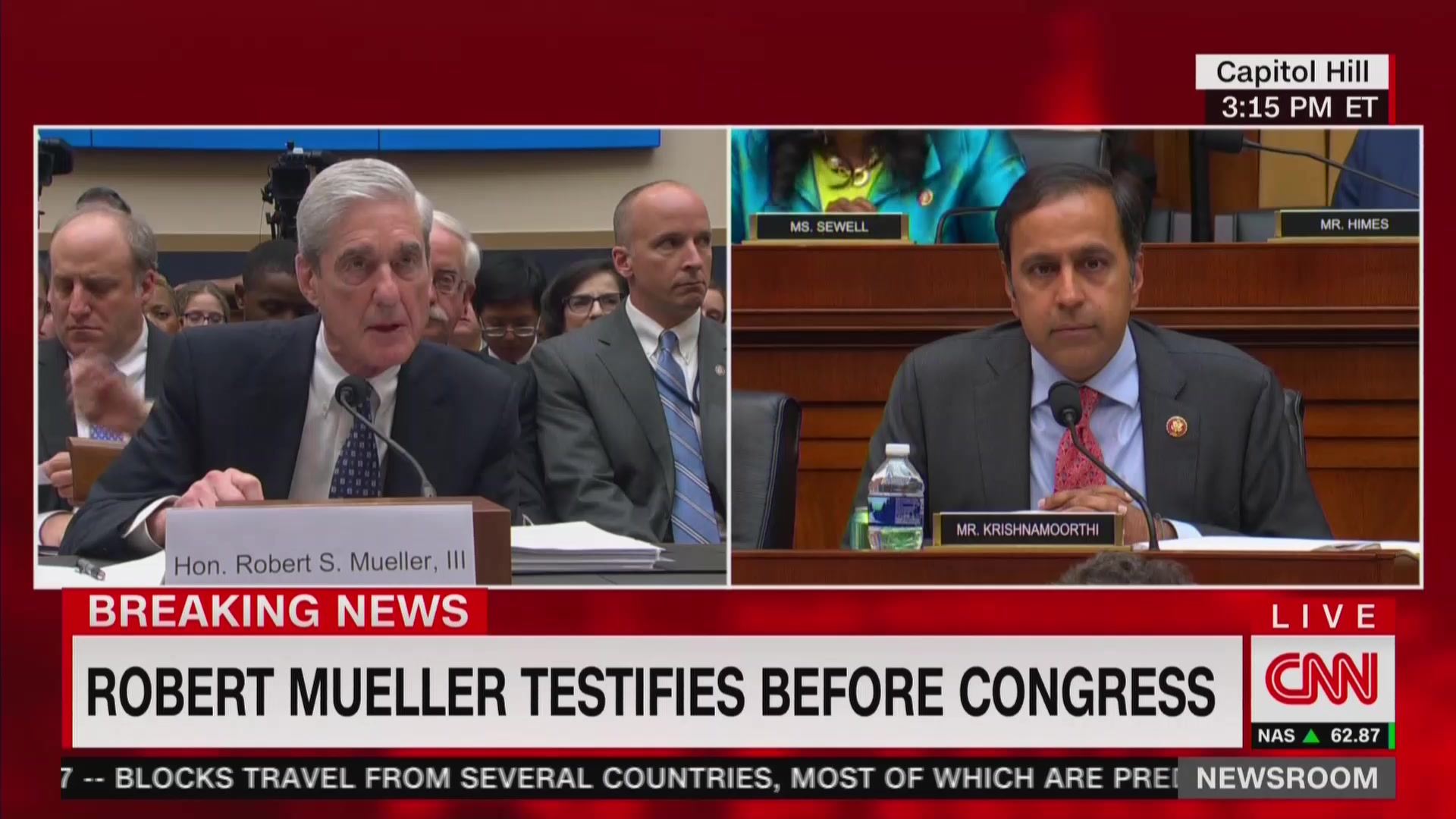 Robert Mueller: FBI Is Currently Looking Into Issues of Trumpworld Blackmail