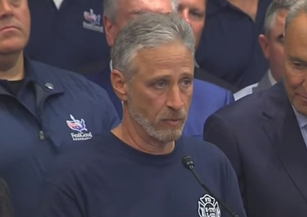 WATCH: Jon Stewart Praises Advocates After Senate Renews 9/11 Victim Compensation Fund