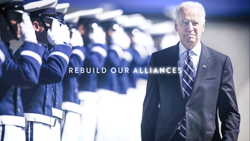Joe Biden's First TV Ad Takes Aim At 'Erratic, Vicious, Bullying' President