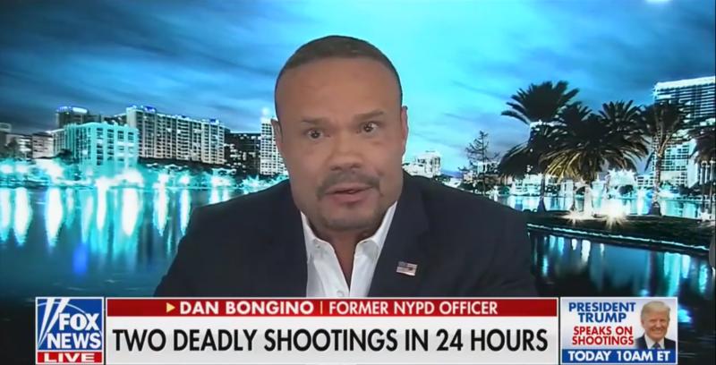 Dan Bongino Tells Fox News 'Something' Is Causing Mass Shootings, Doesn't Mention White Supremacy