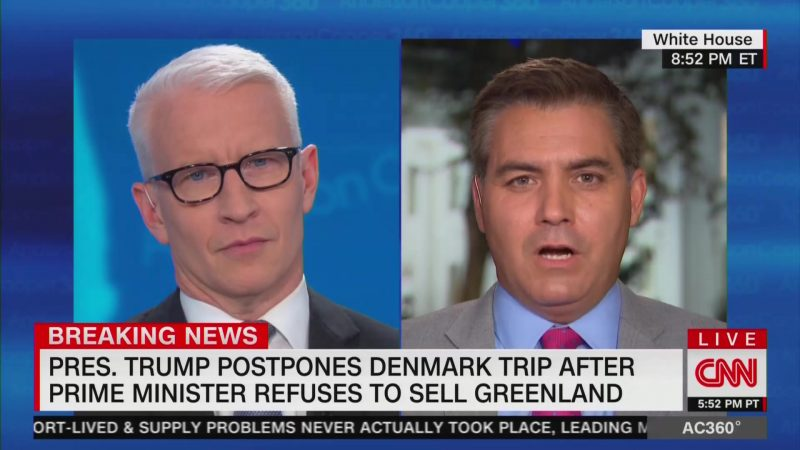 Anderson Cooper: 'If You Can't Be Tough With the NRA, Go After the Danish Prime Minister'
