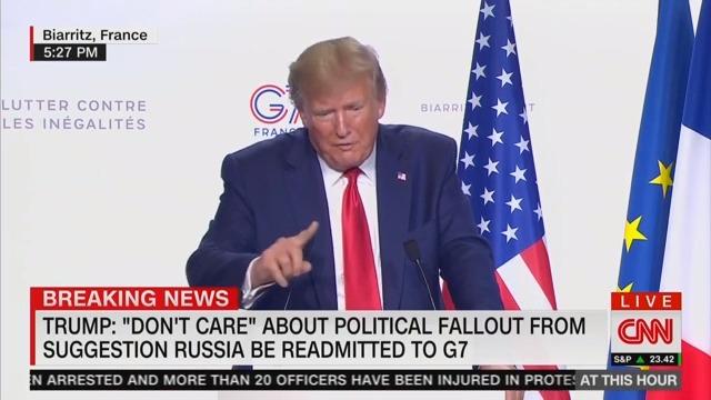 Trump Blames Obama — Not Putin — For Russia Illegally Invading Ukraine and Annexing Crimea