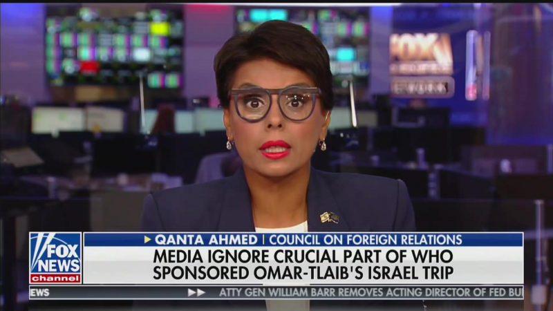 Fox Guest: Rashida Tlaib and Ilhan Omar Have 'Grotesque Holocaust Envy'