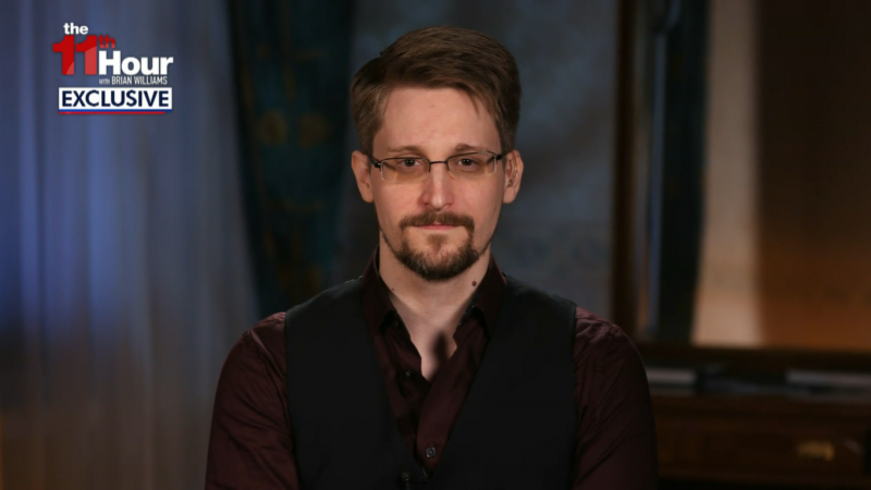 Edward Snowden: Joe Biden Stopped Me Getting Asylum In US Allies