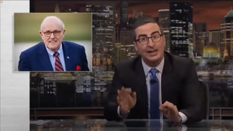 John Oliver: 'Stupidest Watergate' Could Finally See Trump Impeached