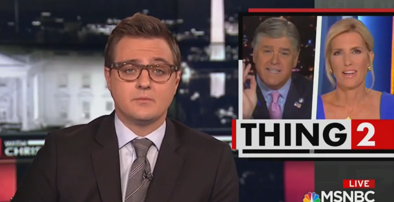 MSNBC's Chris Hayes: Fox Hosts Competing to be 'Most Shameless Toady' for Trump