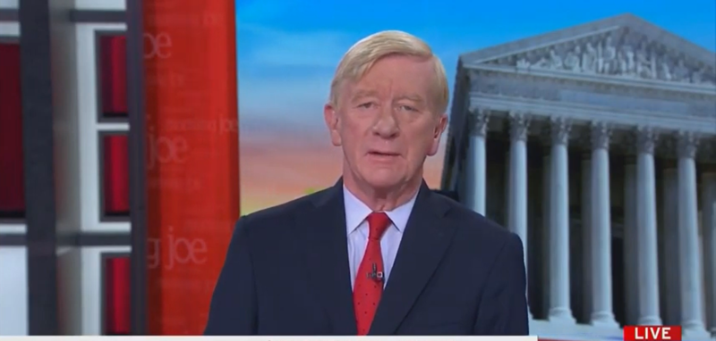 William Weld: Trump Has Committed Treason, Which Is Punishable By 'Death'