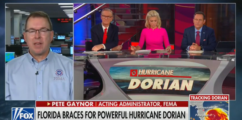 Fox's Brian Kilmeade Quizzes FEMA Administrator On Funding, Forgets Trump Is Pulling Millions From It
