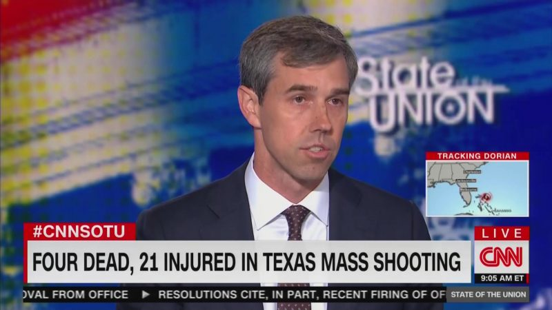 Beto O'Rourke Drops F-Bomb Live on CNN Over Odessa Shooting: 'This Is F*cked Up!'