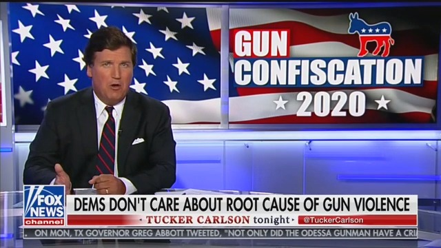 Tucker Carlson: Gun Buybacks Will Incite 'Violence' and Cause 'Civil War'