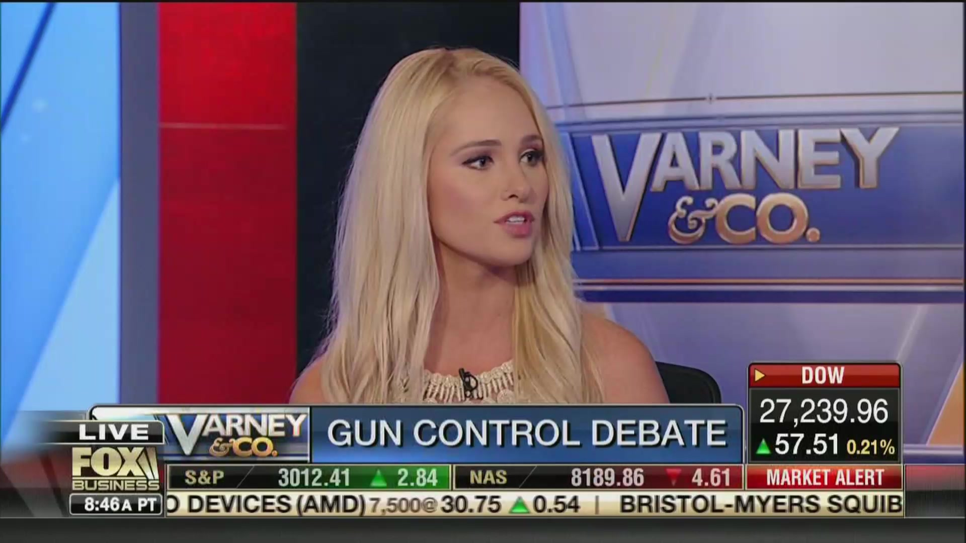Fox's Tomi Lahren: Americans Need Guns as a 'Means to Defend Ourselves' From Immigrants