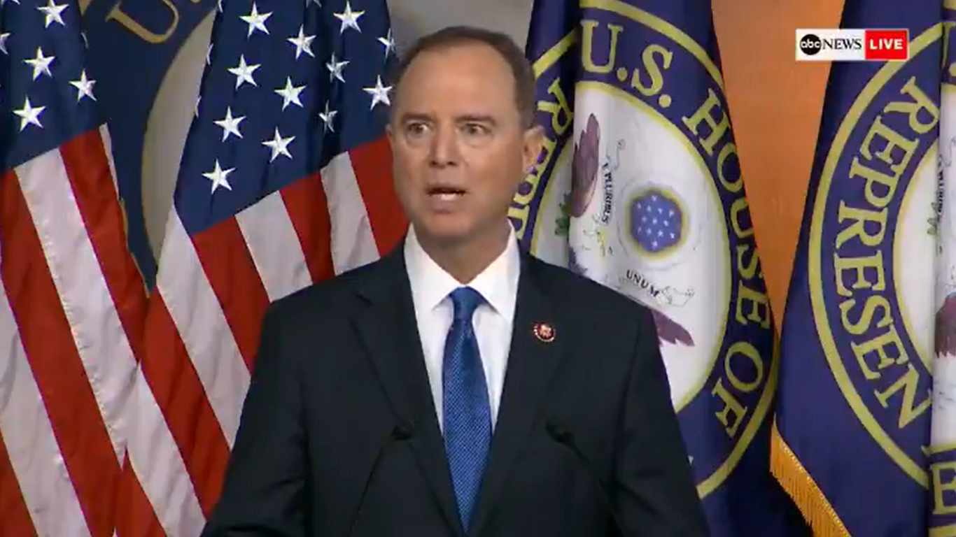 Adam Schiff: 'Any Effort' By Pompeo or Trump to 'Interfere' Will be 'Considered as Evidence of Obstruction'