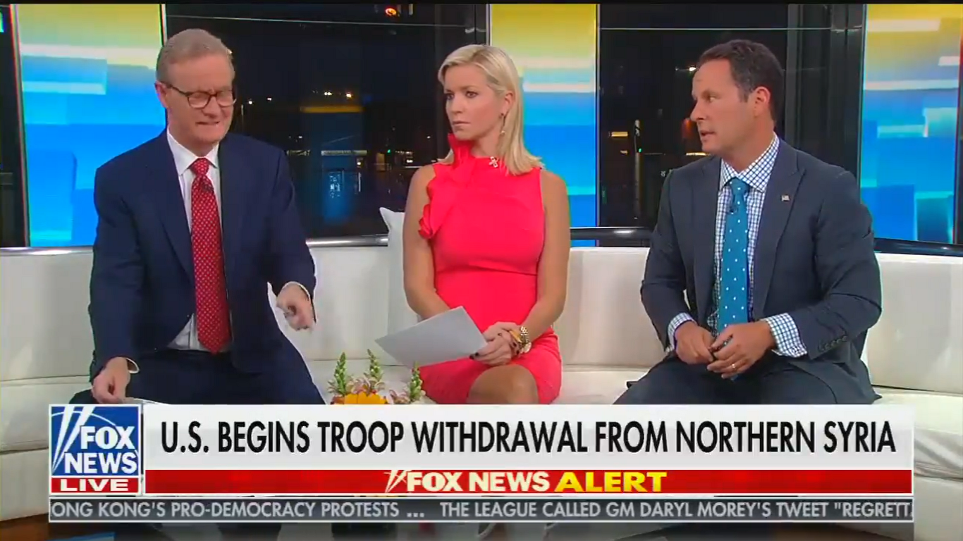 Fox's Kilmeade Blasts Trump's 'Disastrous' Decision to Abandon Kurdish Allies: 'Are You Kidding Me?!'
