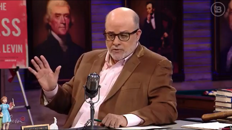 Mark Levin: 'There Hasn't Even Been a Hint of Scandal' While Trump's Been President