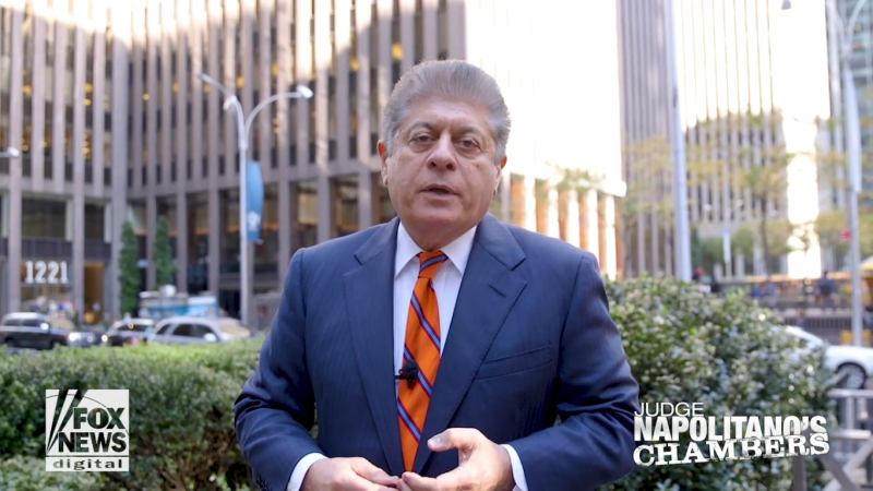 Fox News' Judge Napolitano Questions Trump's Fitness for Office: He Disparages the Constitution