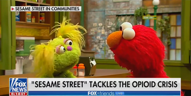 Fox News Medical Contributor Has 'Concerns' that Sesame Street Is 'Normalizing Substance Abuse'