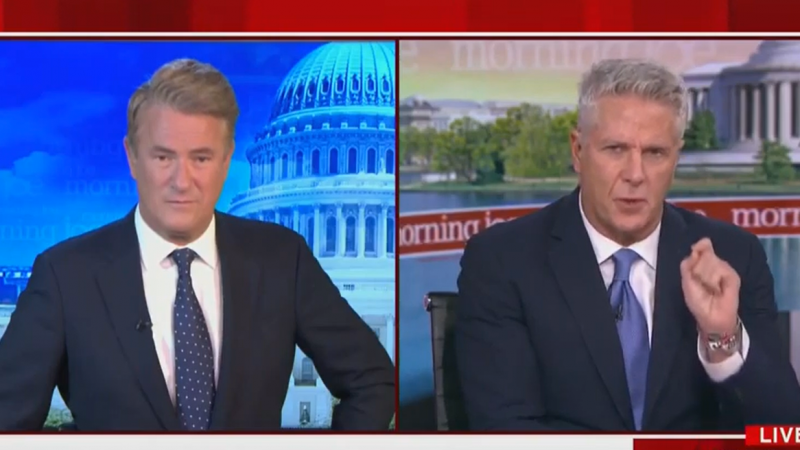 MSNBC'S Donny Deutsch: If Things Go Badly for Trump, He'll Tell His Supporters 'Let's Go to War'