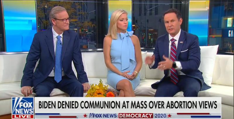 Fox Hosts Clash Over Priest Who Denied Joe Biden Holy Communion: 'Very Judgmental'