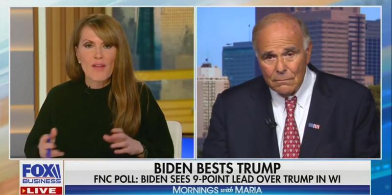 Former Democratic Governor Lectures Fox Business Hosts Pushing Biden/Ukraine Corruption