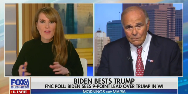 Former Democratic Governor Lectures Fox Business Hosts Pushing Biden/Ukraine Corruption