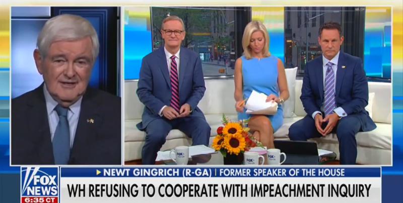 Newt Gingrich Claims Famous Watergate Whistleblower Mark Felt Wasn't A Whistleblower