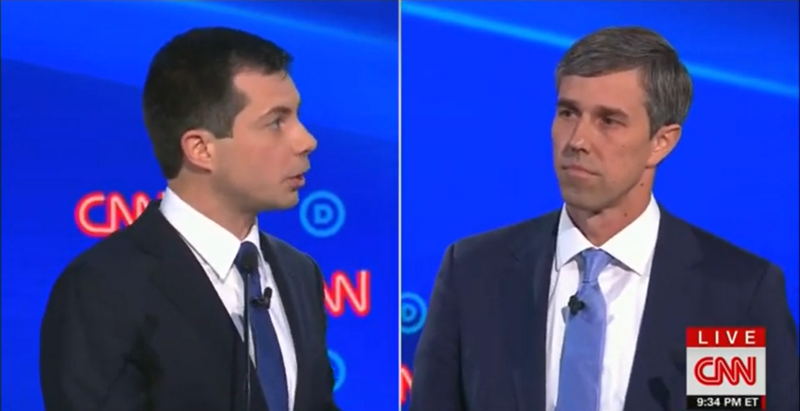 Mayor Pete Clashes with Beto O'Rourke: 'I Don't Need Lessons in Courage From You'