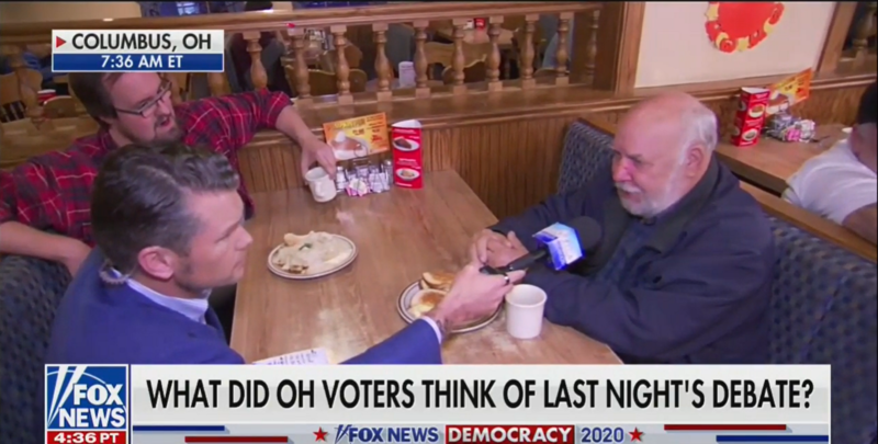 Diner Patron Tells Fox News 'Nobody Bitched' About High Taxes in the '70s: 'We Still Made Lots of Billionaires'