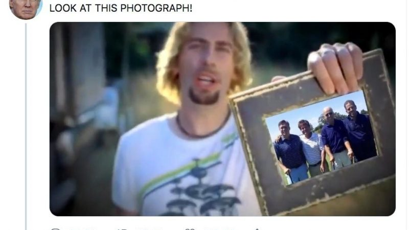 Twitter Has Field Day After Nickelback Pulls Down Trump Video