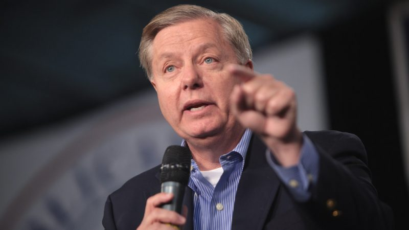 Lindsey Graham Backs Trump on Impeachment: 'This Is a Lynching in Every Sense'