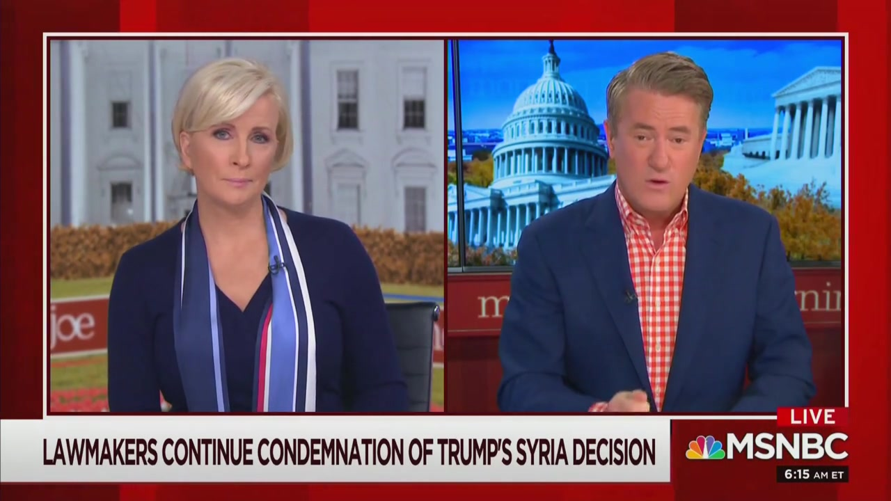 Joe Scarborough: Any Republicans that Keep Trump in Power 'Own the Resurgence of ISIS'
