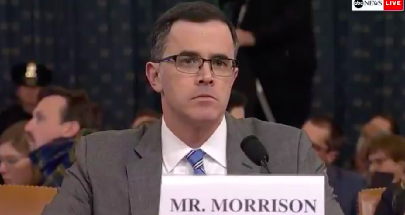 Tim Morrison Says He Was Warned About the 'Gordon Problem'