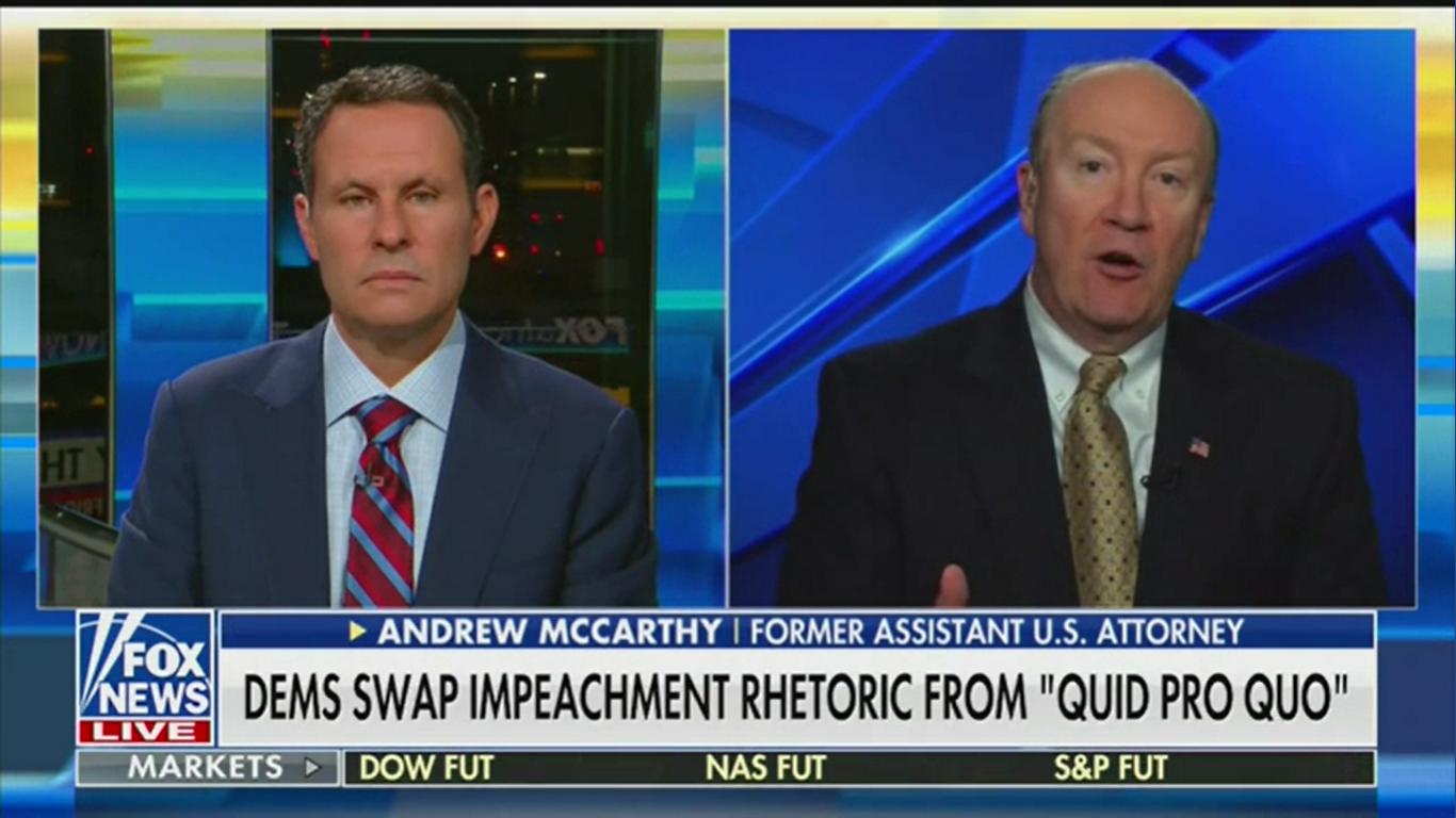 Fox News Contributor Defends Trump's Ukraine 'Extortion': 'That's Better Than War'
