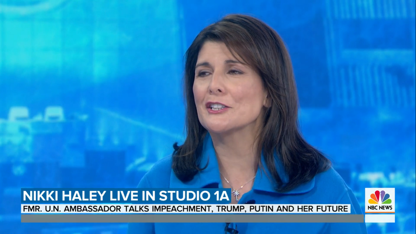 Nikki Haley Says Trump Was Truthful 'In Every Instance That I Dealt With Him'