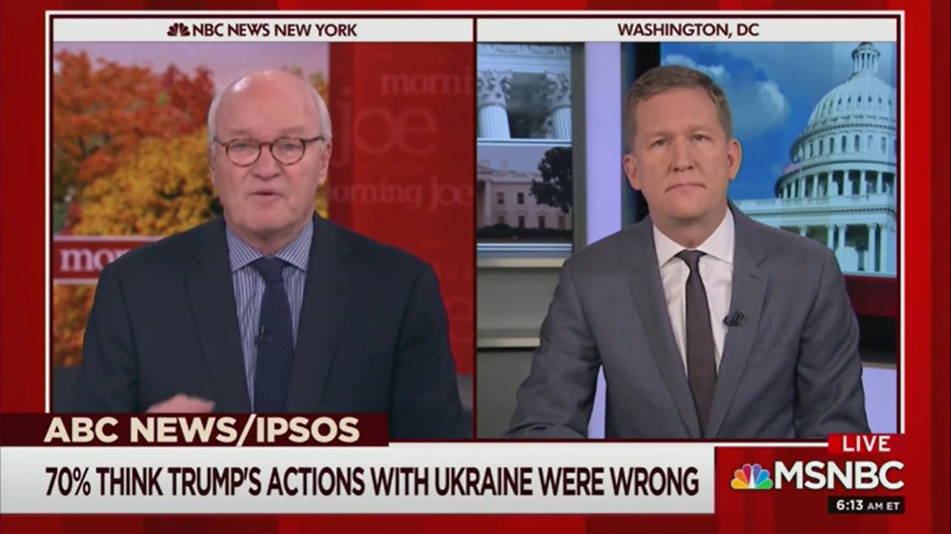 'Morning Joe' Guest: The Senate Is Now a 'Donald Trump Defense Fund'