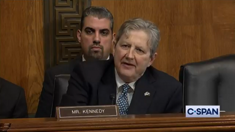 Republican Senator John Kennedy: Christmas Ornaments and Jeffrey Epstein 'Don't Hang Themselves'